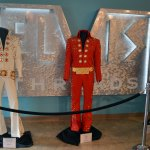 Elvis's Costumes on display at Graceland