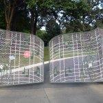 Gates to Elvis' Residence at Graceland