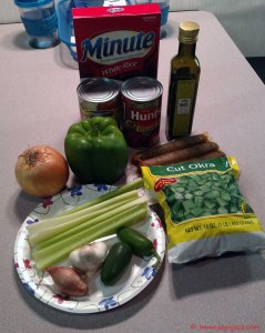 Vegan Jambalaya Ingredients