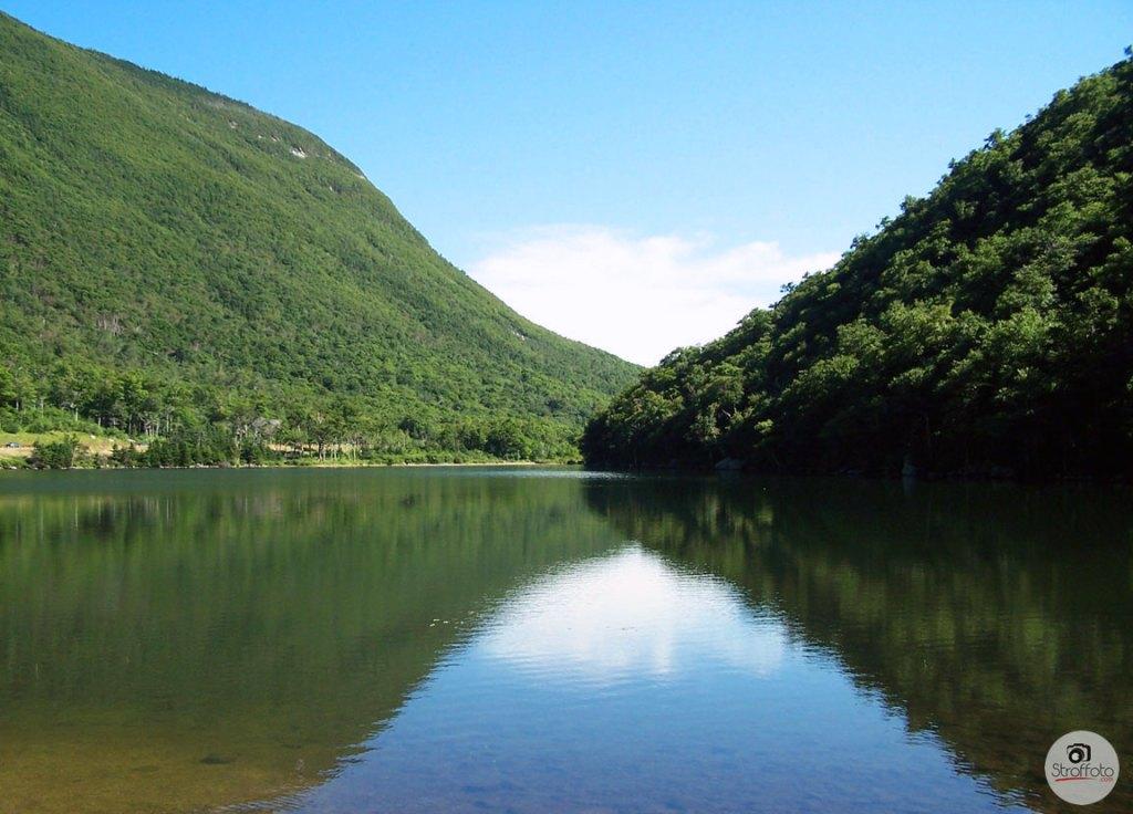 Profile Lake in the White Mountains