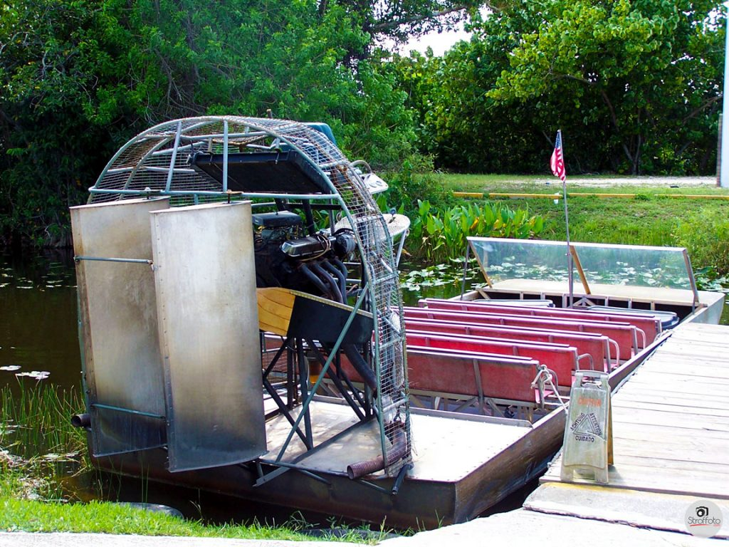 Airboat at Coopertown Tours in Miami