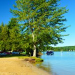 Branbury State Park on Lake Dunmore