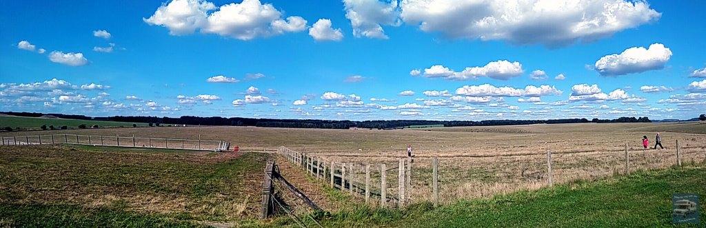 Field next to Stonehenge