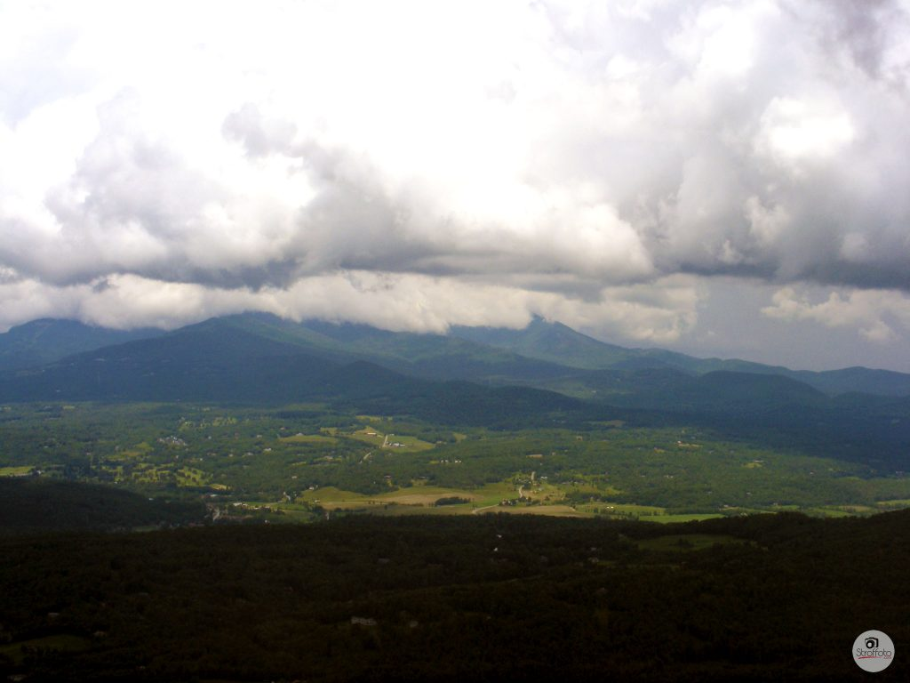 View from the Pinnacle Hiking Trail