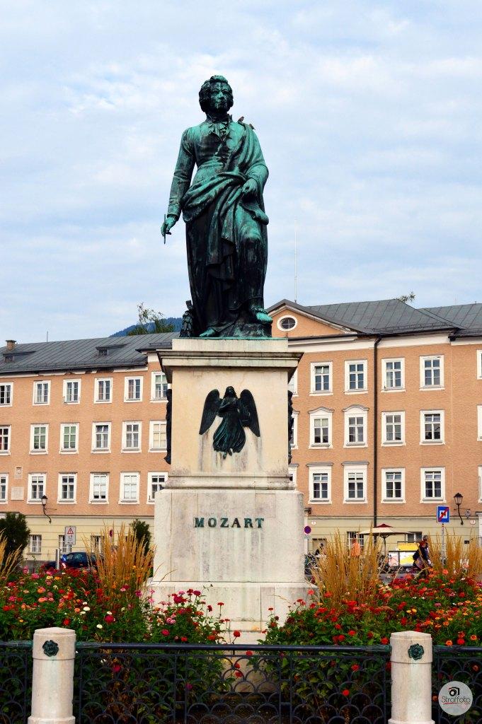 Mozart Statue Austria