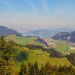 Views from Stansehorn Mountain in Switzerland