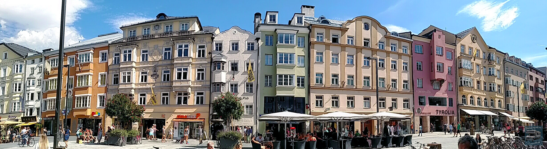 Innsbruck Austria Old Town