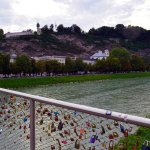 Love Locks Bridge Salzburg