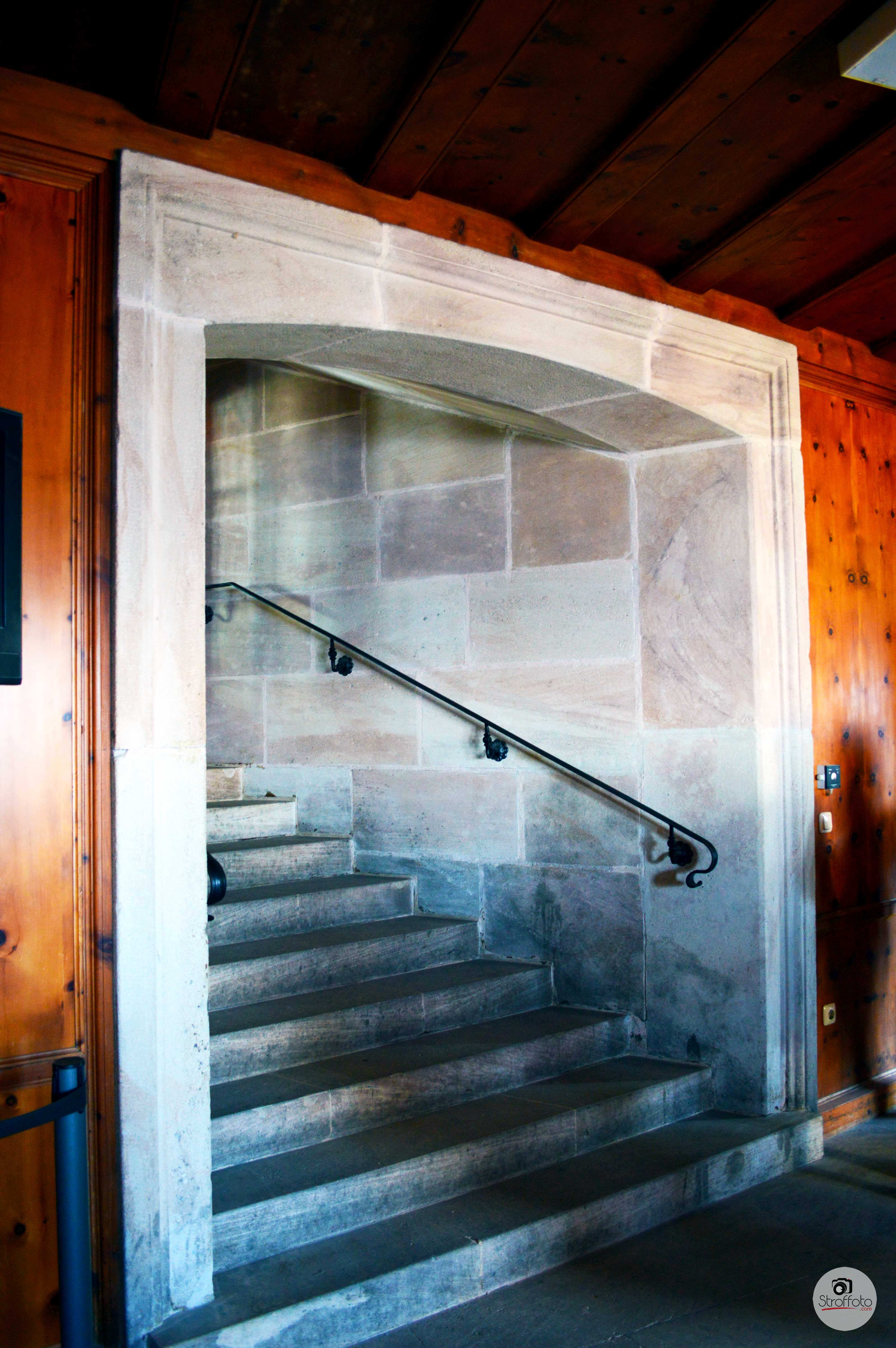 Marble Stairs in the Eagle's Nest