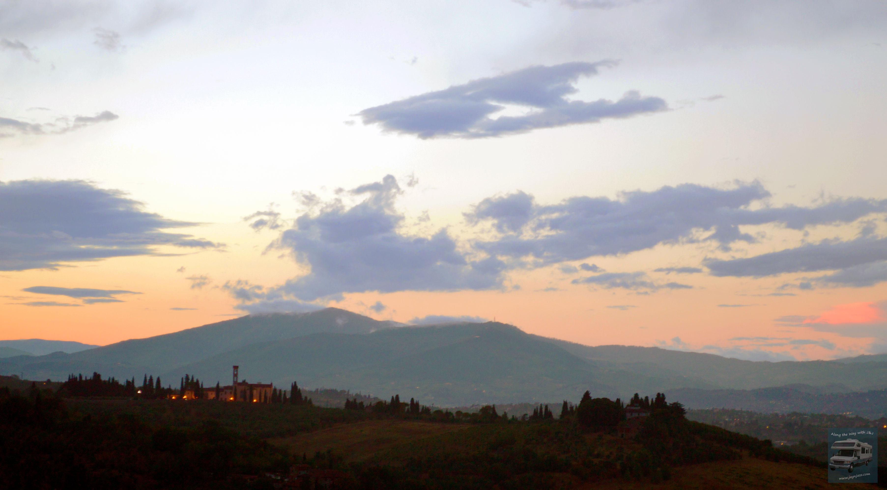 Tuscan Hills Sunset