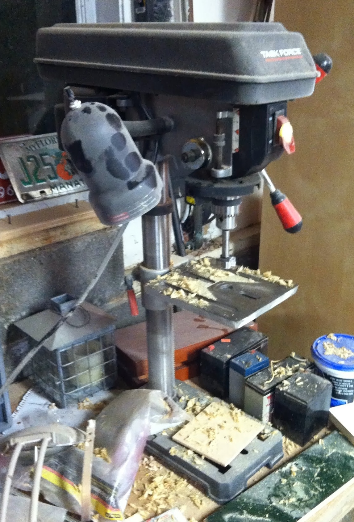 Bench Top 10 Quot Drill Press Wood Insights