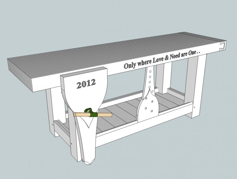 roubo bench design