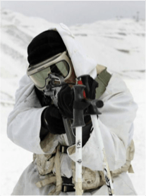 2009 – Military uses of ski poles for mountain troops, from Web search.