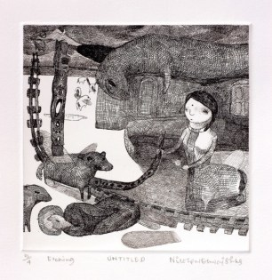 Nilotpal Dhwaj Sinha - An Etching