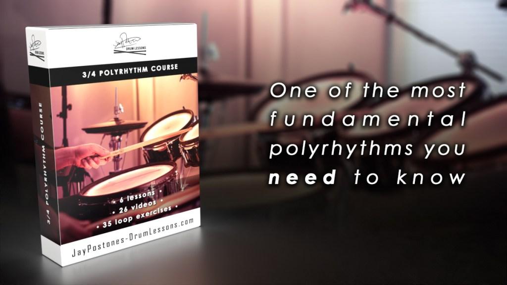 3/4 Polyrhythm course image