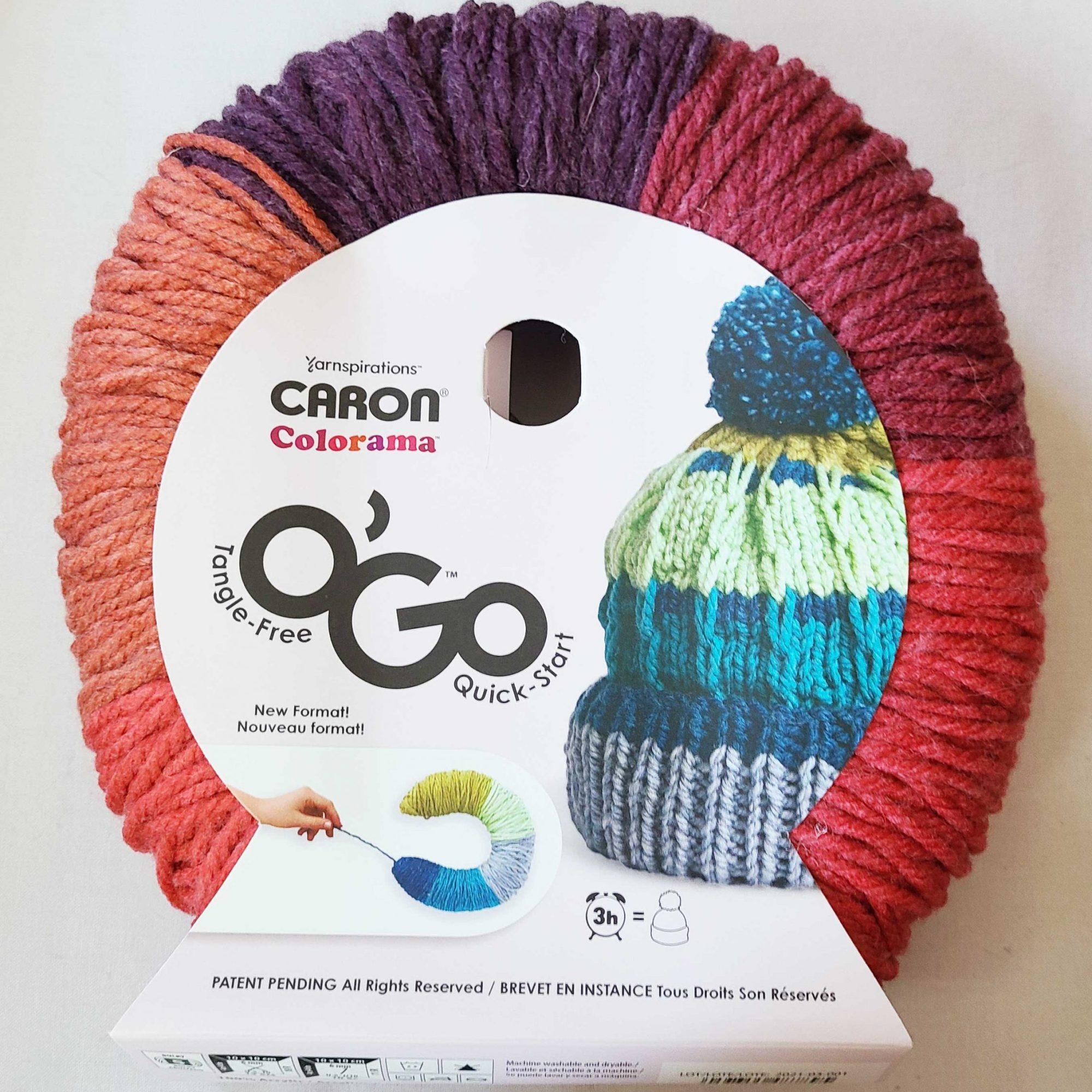 a package of O'Go yarn