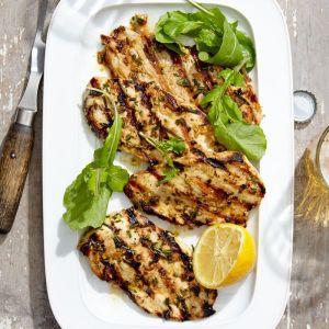 Rosemary-Prosciutto Chicken, Braised Chard, Fresh Mozzarella Ravioli (for 1)