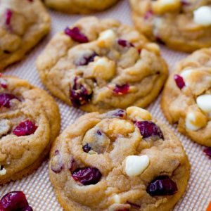White Chocolate-Cranberry Cookies (4-Pack)