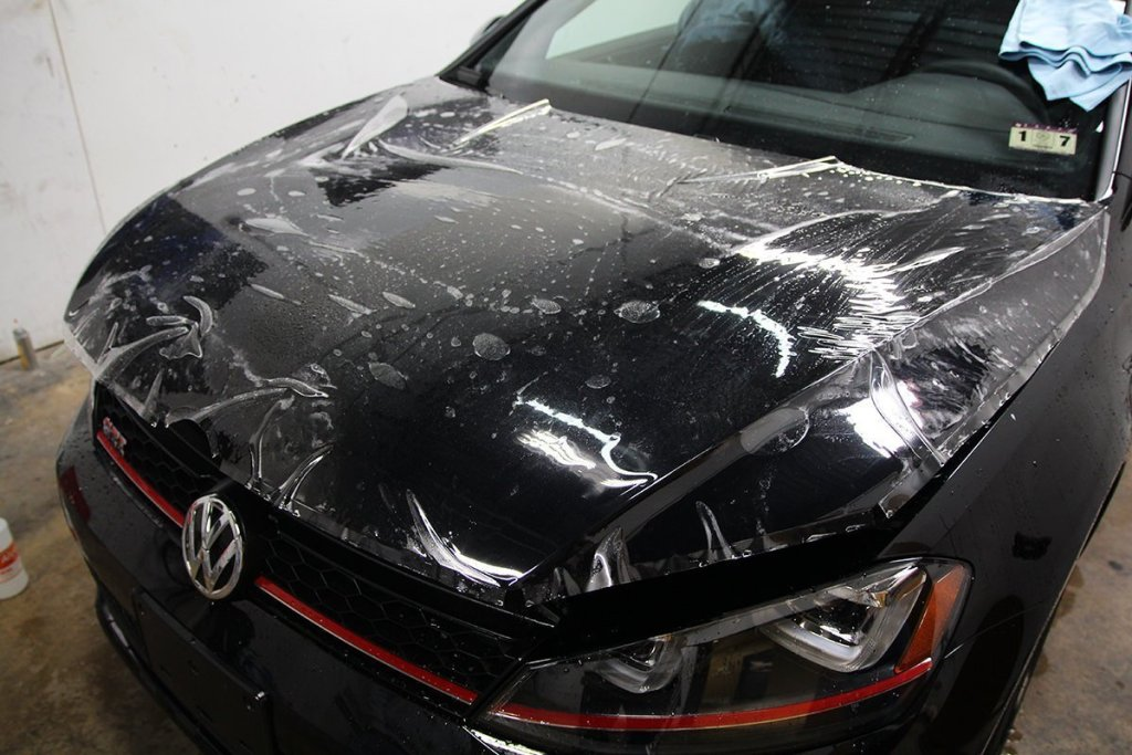 VW TDI Hood