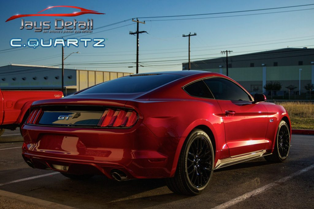 Ford Mustang Ruby Red