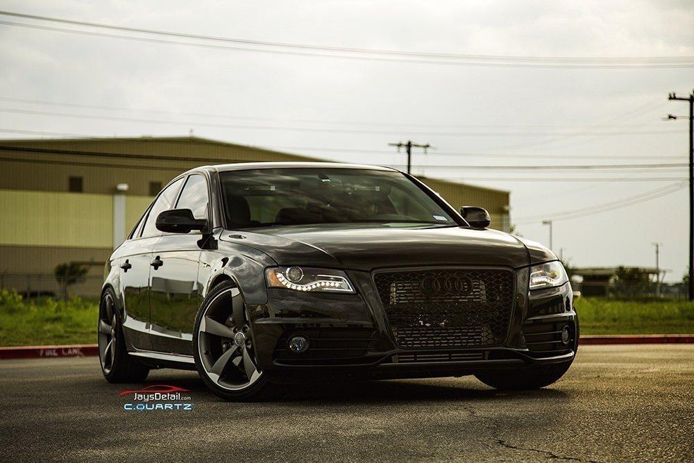 Audi S4 finished