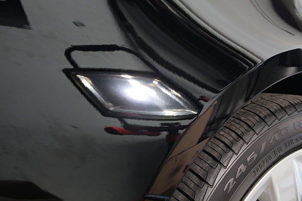 Audi A5 fender after