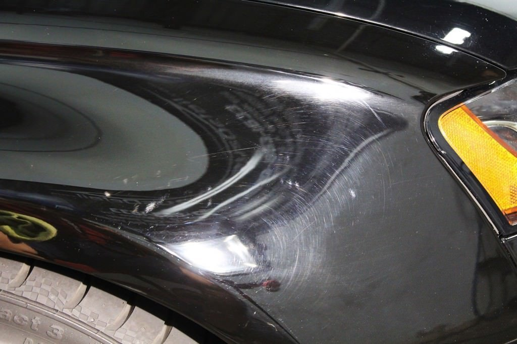 Audi S4 Front fender before