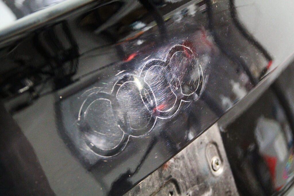 Audi S4 trunk