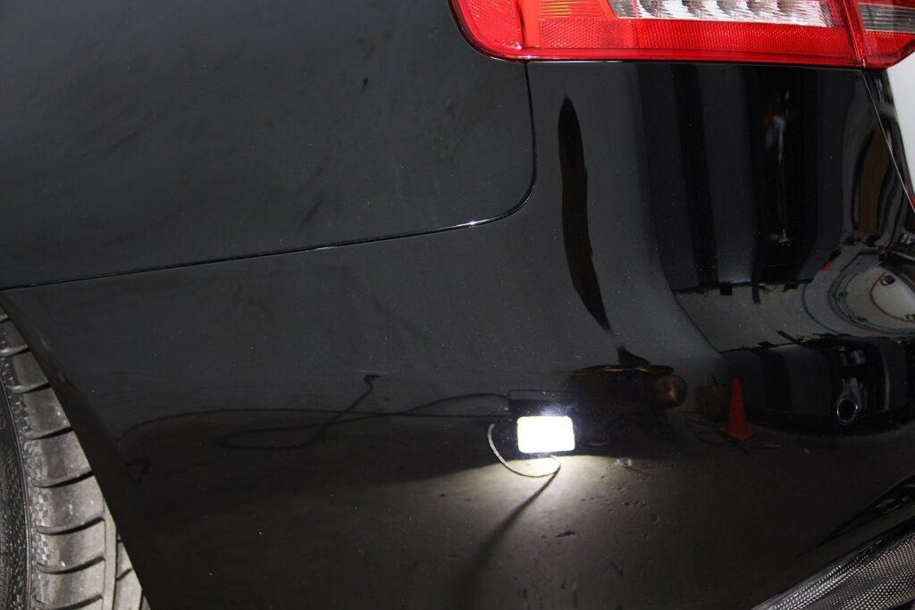 Audi S4 rear bumper