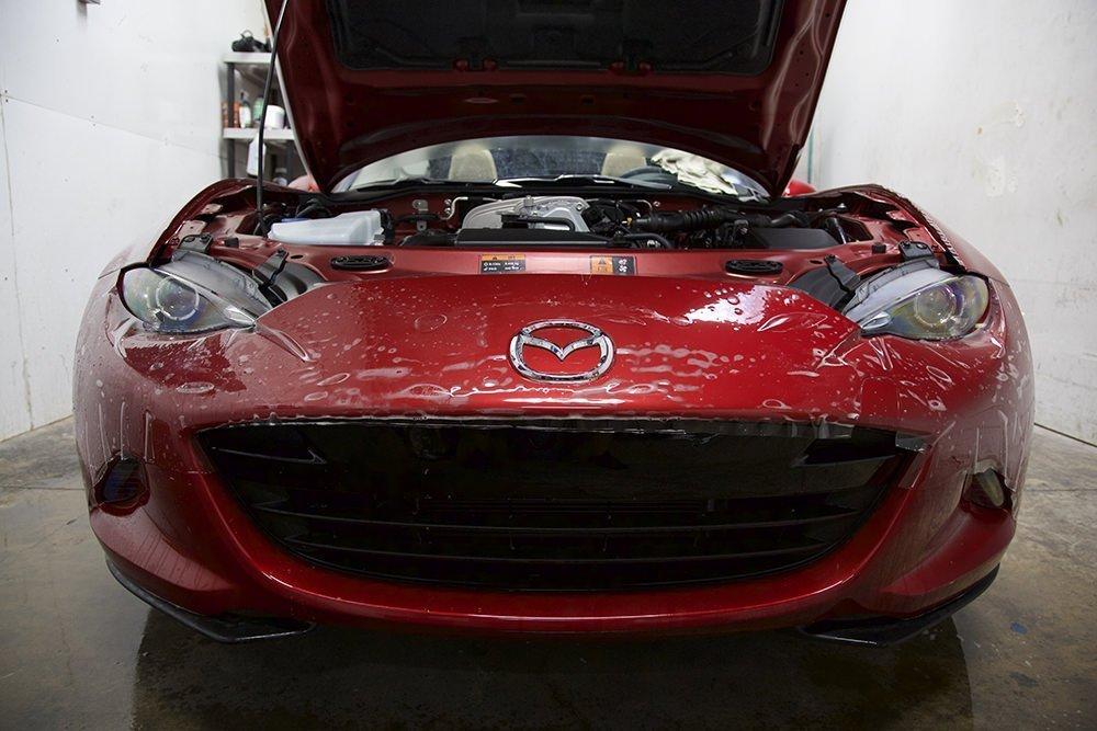 Mazda Miata bumper xpel