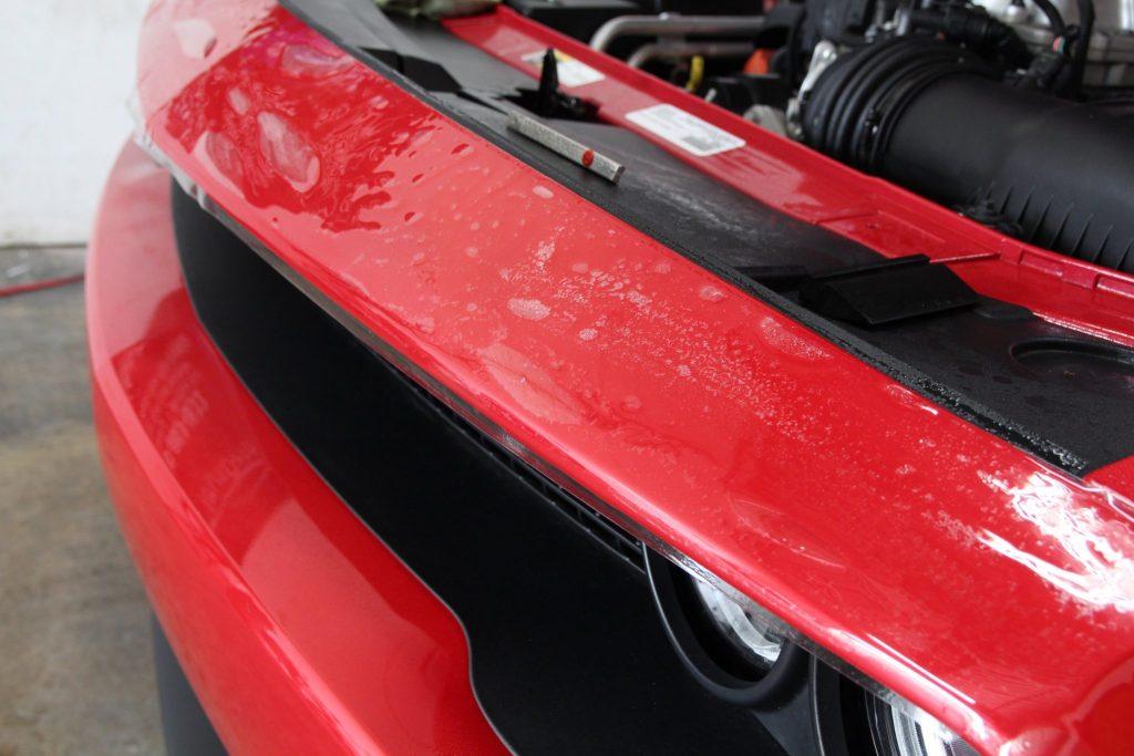 HellCat top bumper ppf
