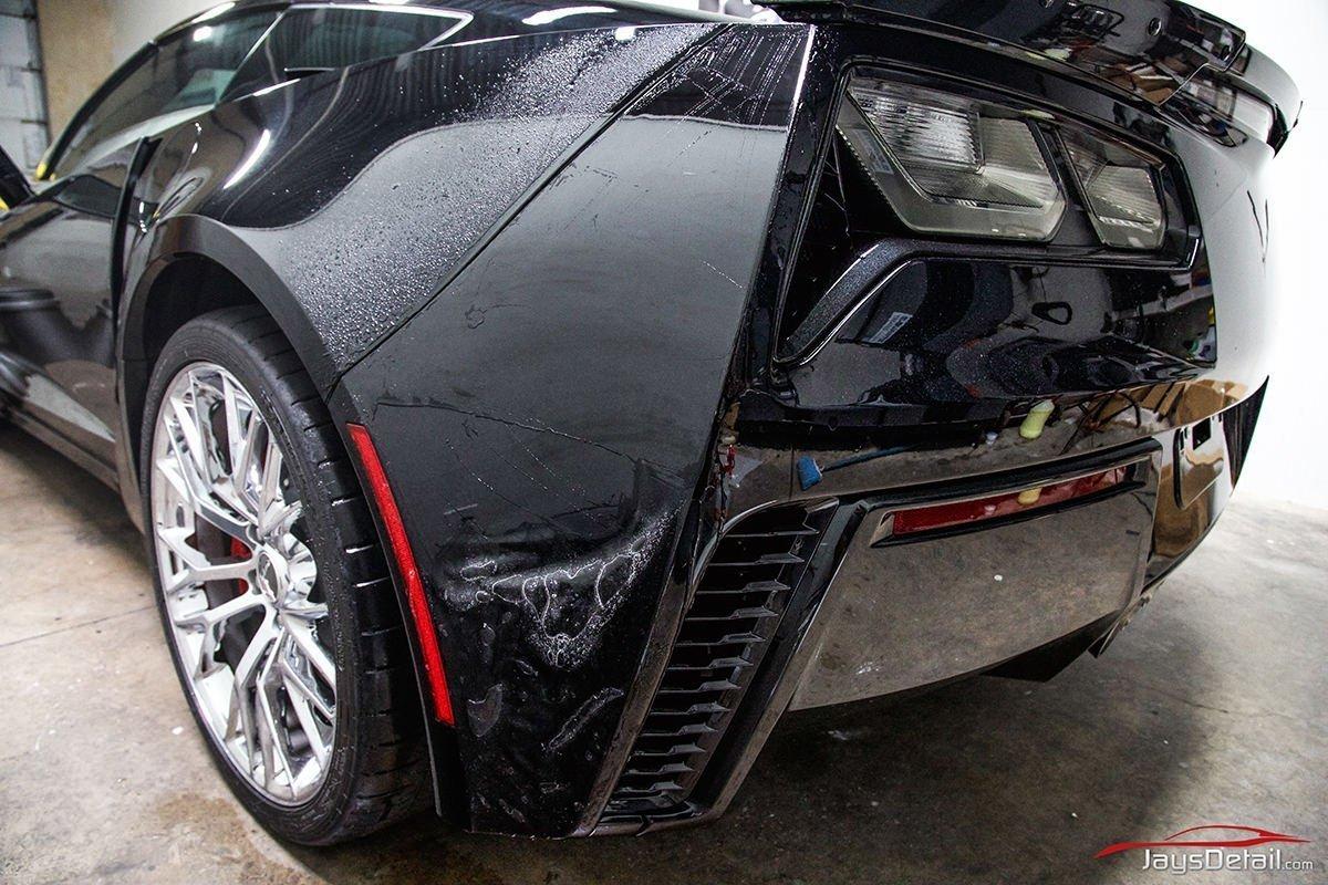 ZO6 rear bumper 2