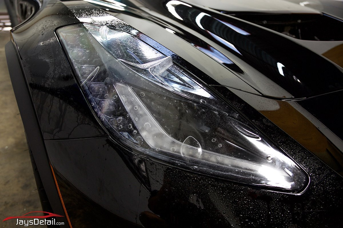 ZO6 headlight ppf