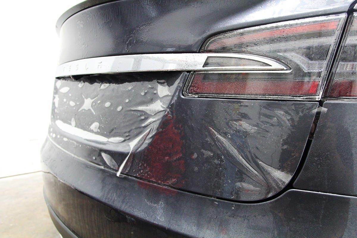 Tesla rear hatch