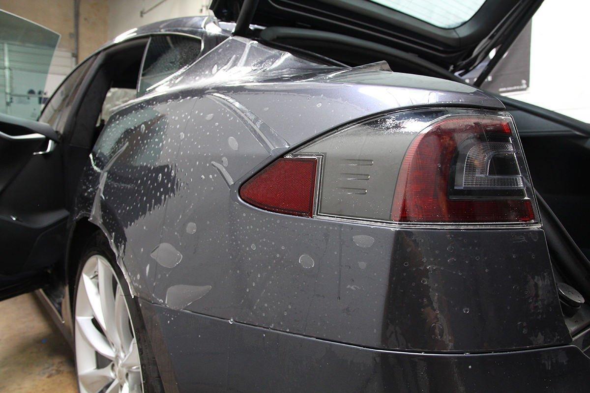 Tesla rear quarters