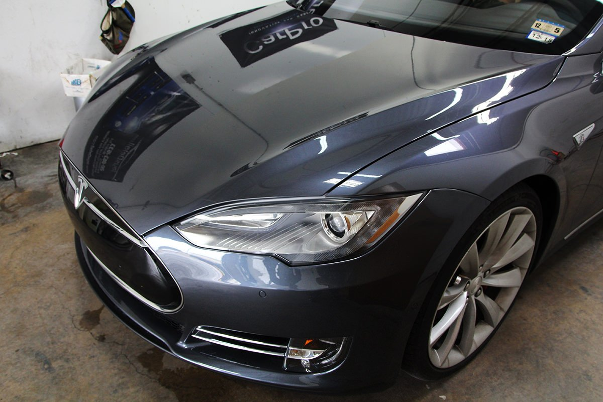 d68740cf11 Tesla Model S Cquartz Finest  Clear Bra. - Jay s Detail