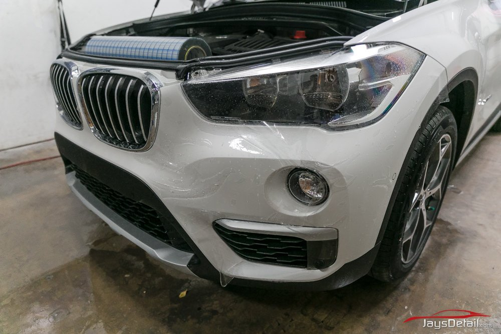 BMW X1 Clear Bra