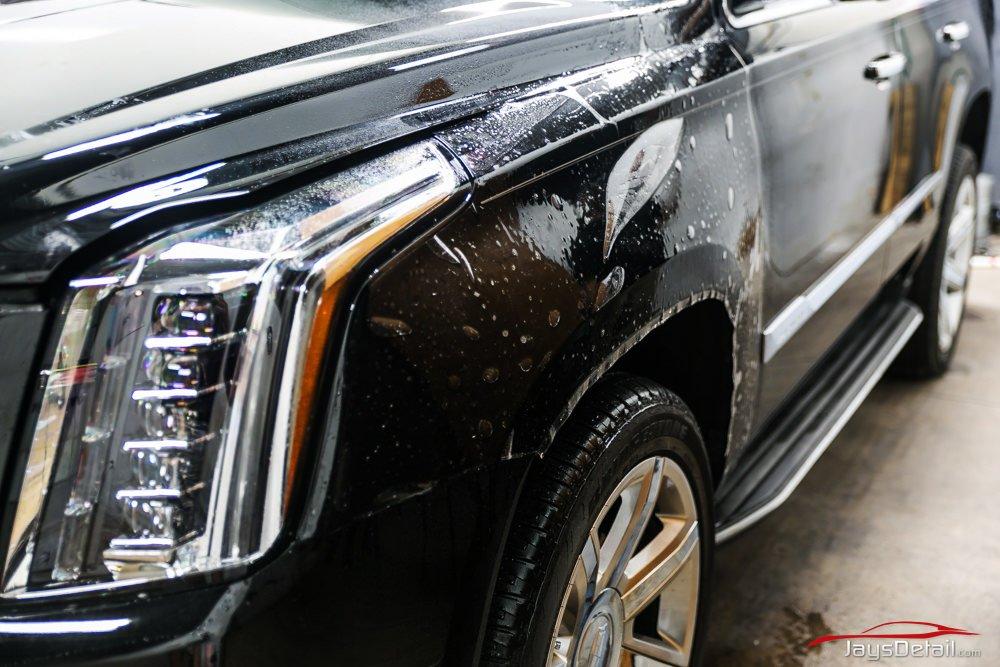 Cadillac Escalade Clear Bra