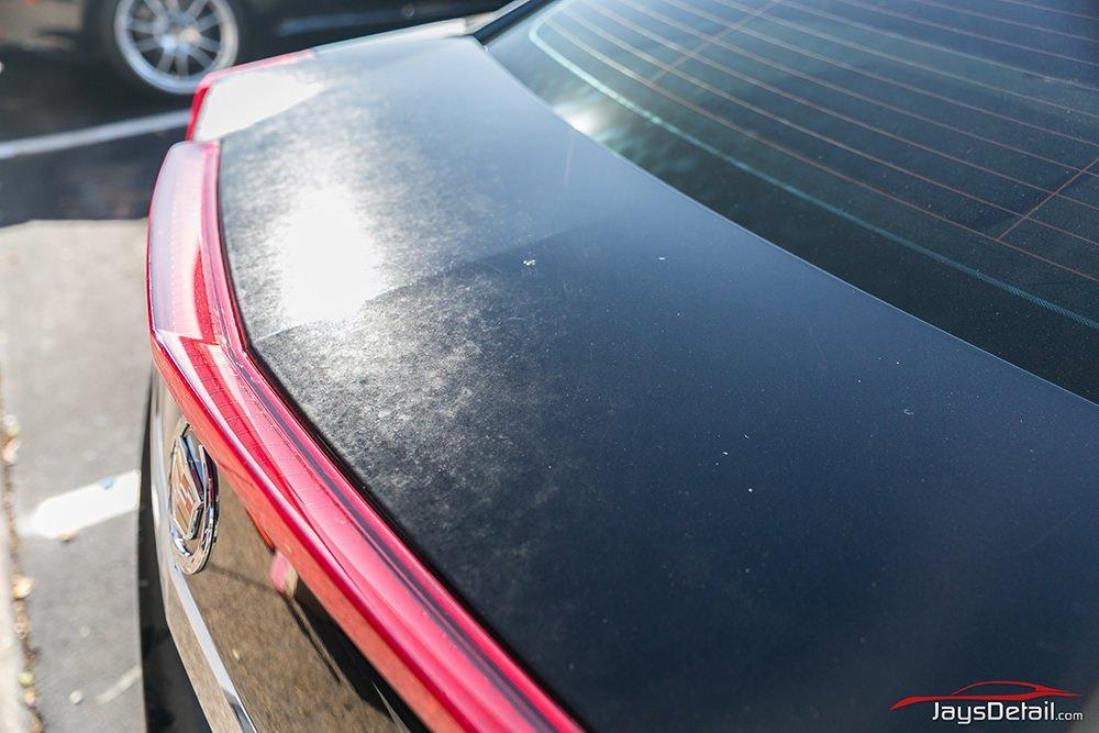 CSTV paint correction trunk