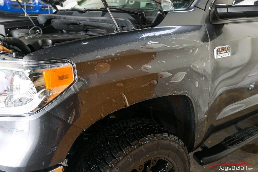 Tundra Clear Bra fender