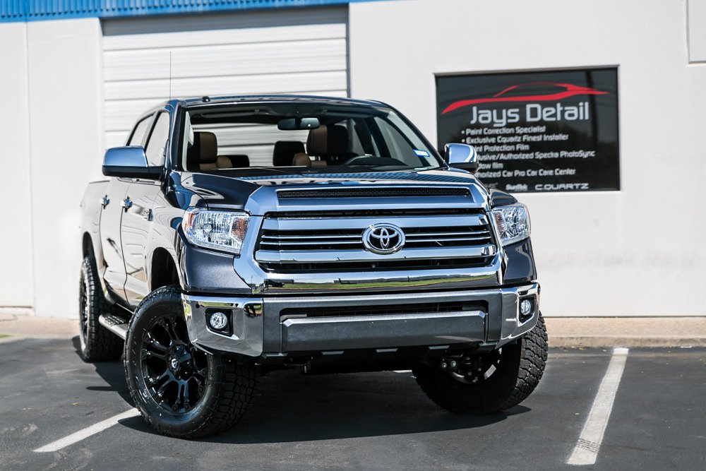 New Car Prep on Toyota Tundra