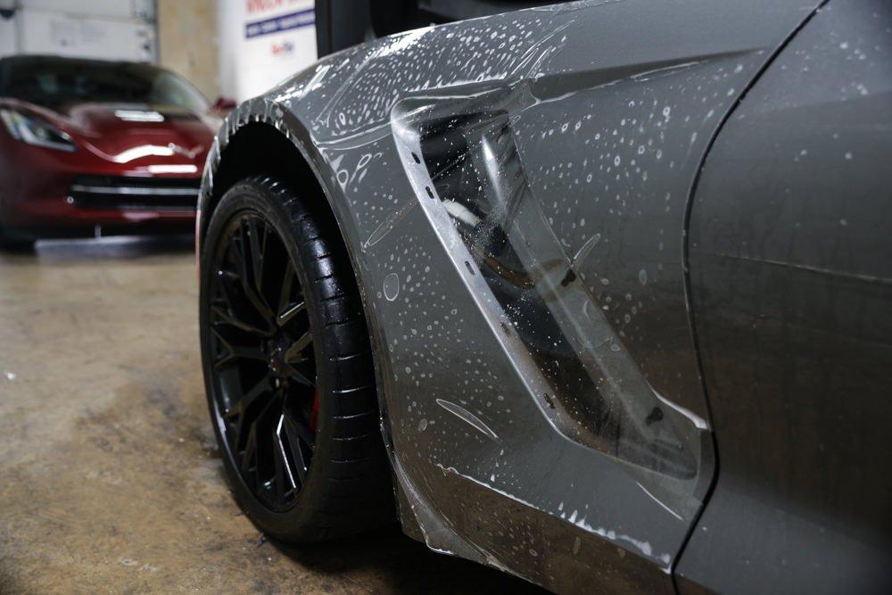Menacing C7 Corvette Z06 gets Protected 4