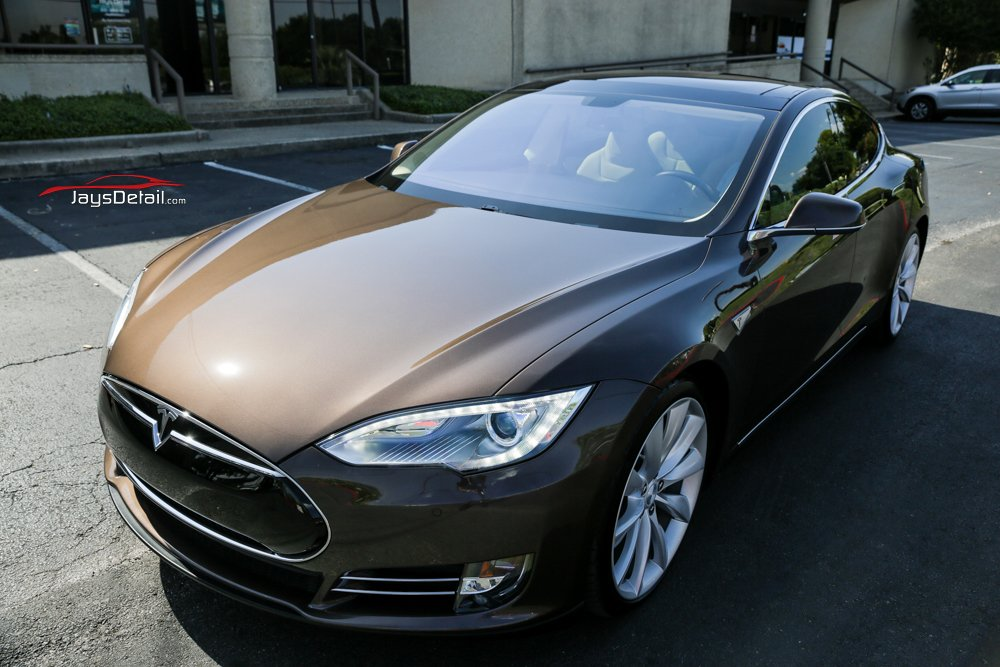 Tesla Model S Gets Ultimate New Car Prep Before Hitting the Road