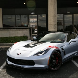 2017 Corvette Grand Sport Readied for the Road Using IR Window Tint