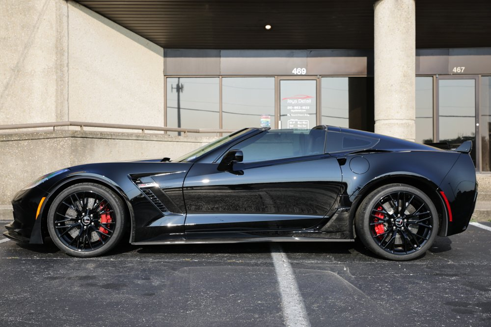 Corvette Zo6 Receives Multi Step Paint Correction Cquartz Finest