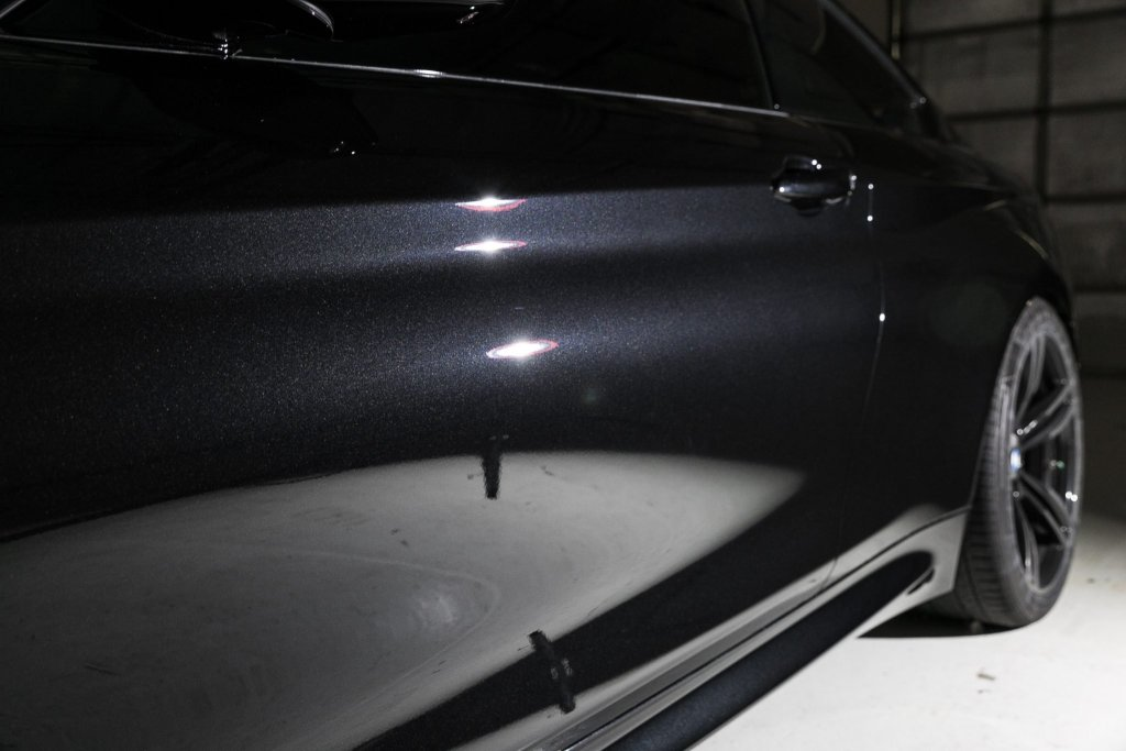 BMW M4 gets clear bra wrap and Finest Ceramic Paint Coating.