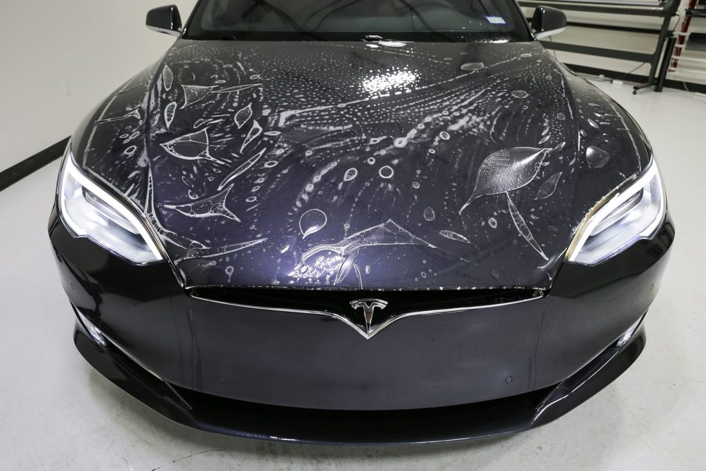 Tesla 75D Receives Jay's Signature New Car Protection Package - New Vehicle Protection in San Antonio, Texas 9