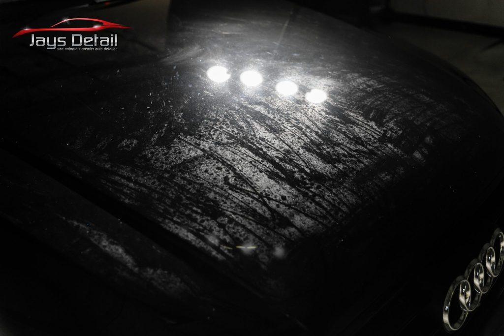 Black Audi S8's Finish Resurrected & Protected with SunTek & Cquartz 3