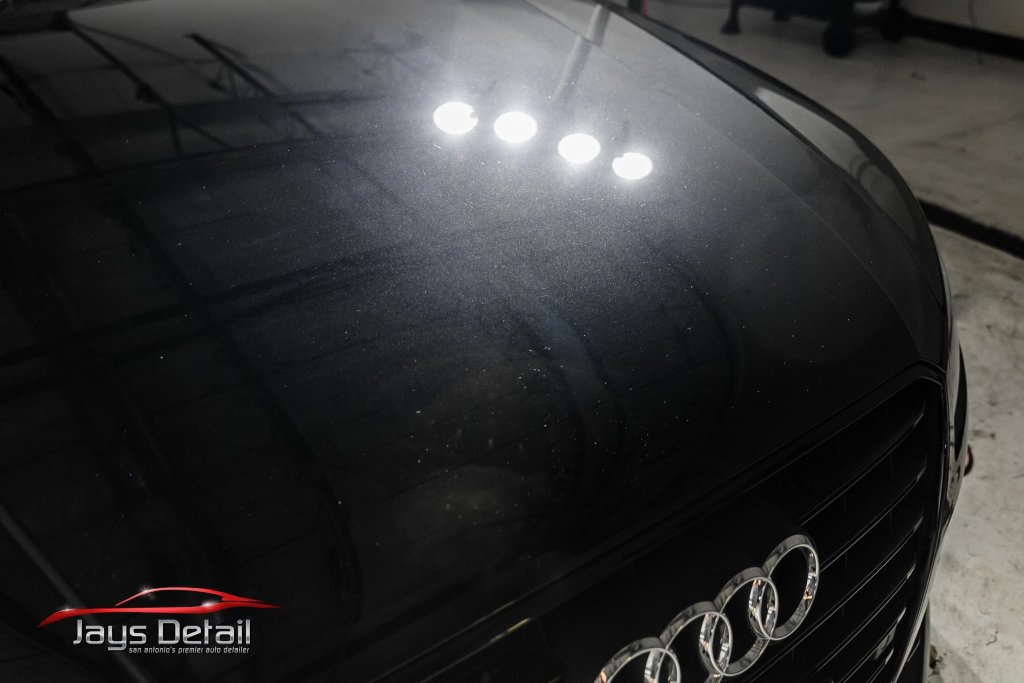 Black Audi S8's Finish Resurrected & Protected with SunTek & Cquartz 4