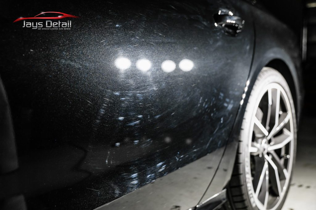 Black Audi S8's Finish Resurrected & Protected with SunTek & Cquartz 5